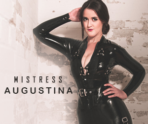 Toronto mistress Augustina dominatrix latex leather fetish