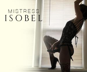 Toronto Mistress Isobel pegging sissification medical fetish