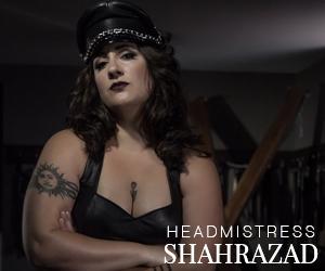 Toronto professional Dominatrix exotic Mistress Shahrazad